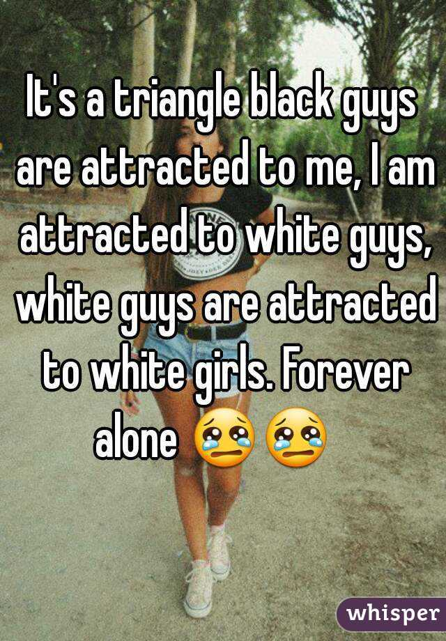 What are black guys attracted to