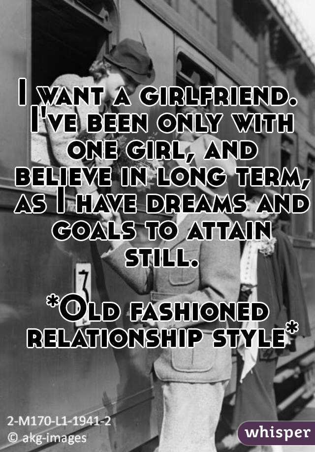 Long term relationship goals