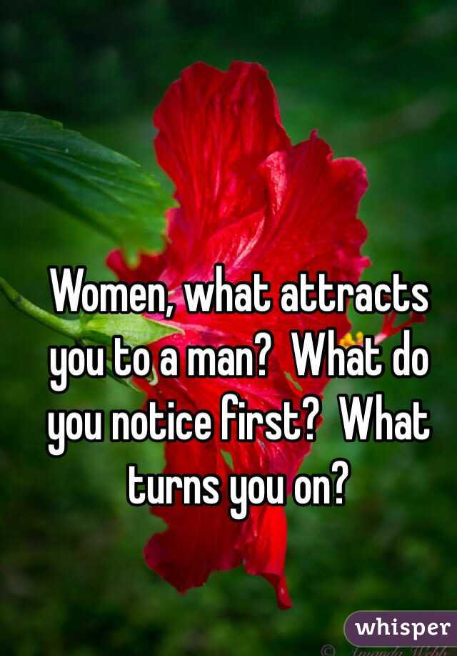 What to do to attract a man