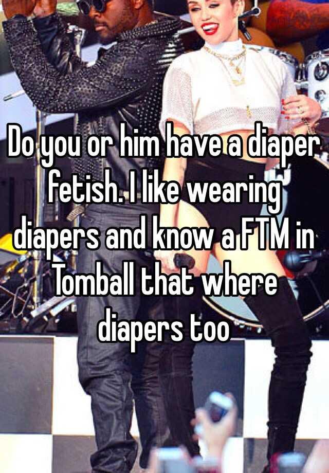 Diaper Wearing Fetish