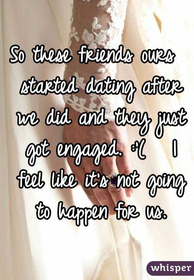 Friends after dating