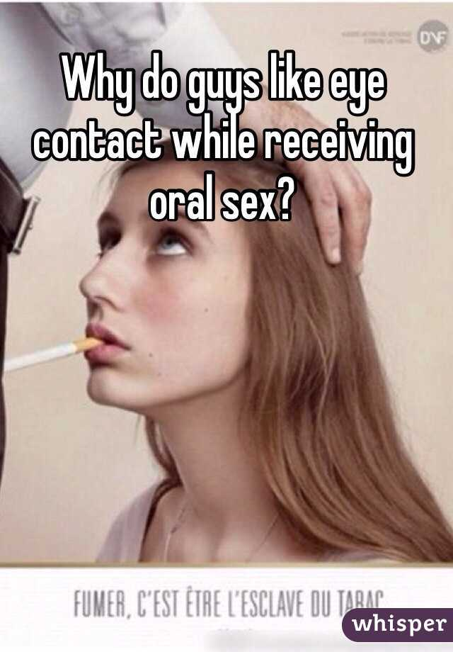 What do men like in oral sex