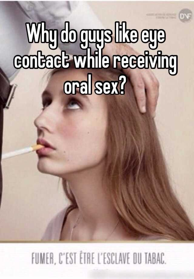Found do all men like oral sex