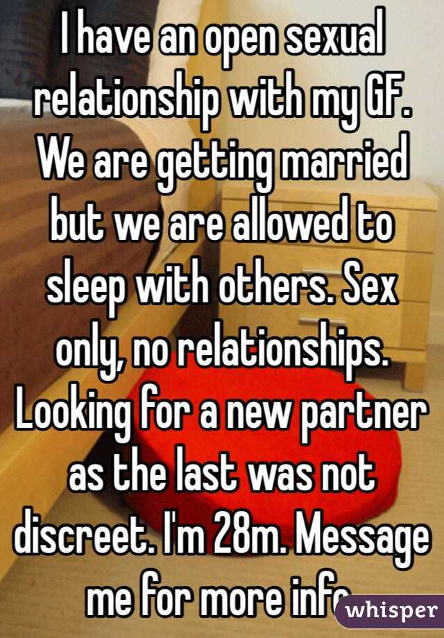 Sexual relationship only