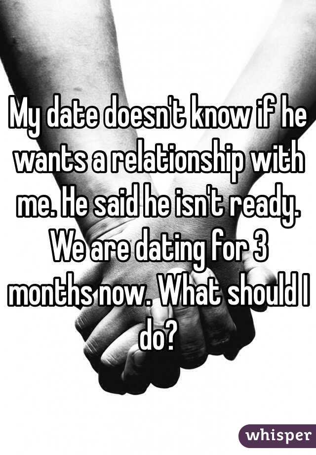 Dating For 3 Months Now What