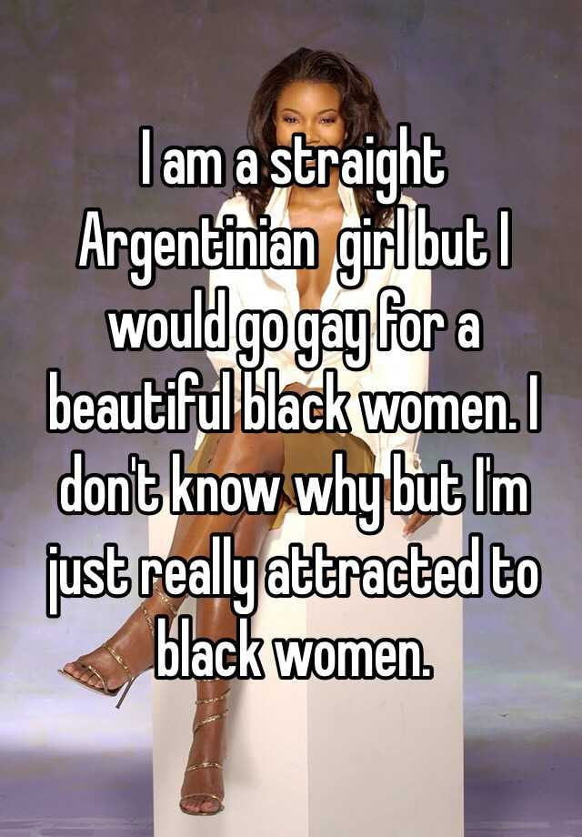 A Attracted To Woman But Straight
