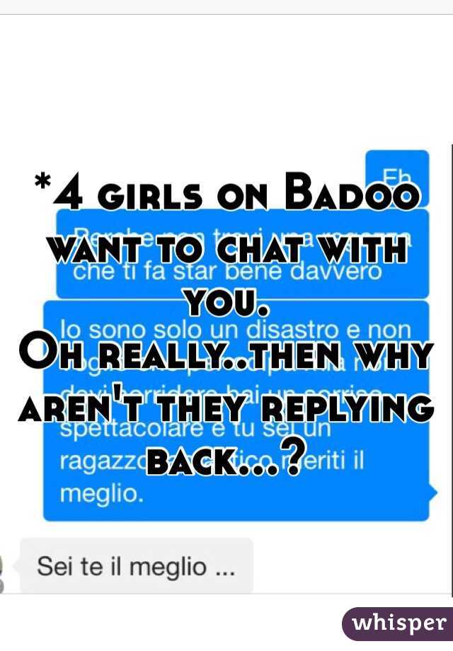 How to chat on badoo