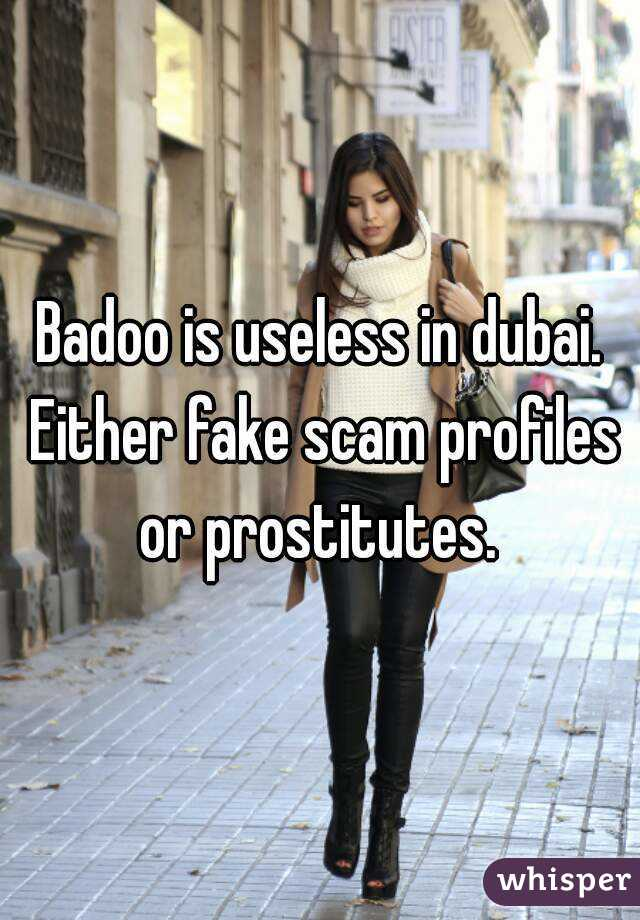 badoo fake profile