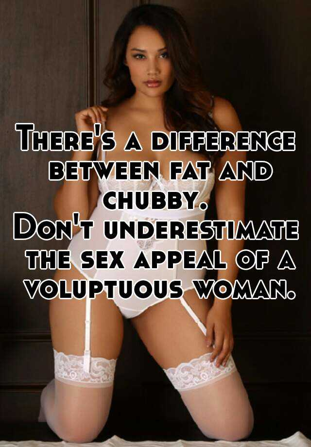 A voluptuous woman