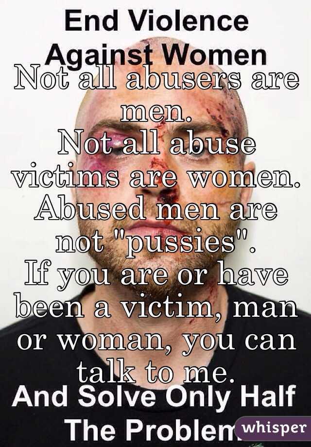 why women abuse men