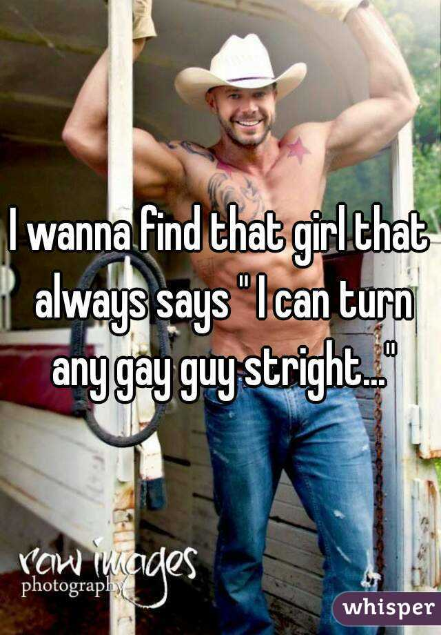 How To Turn A Gay Guy On