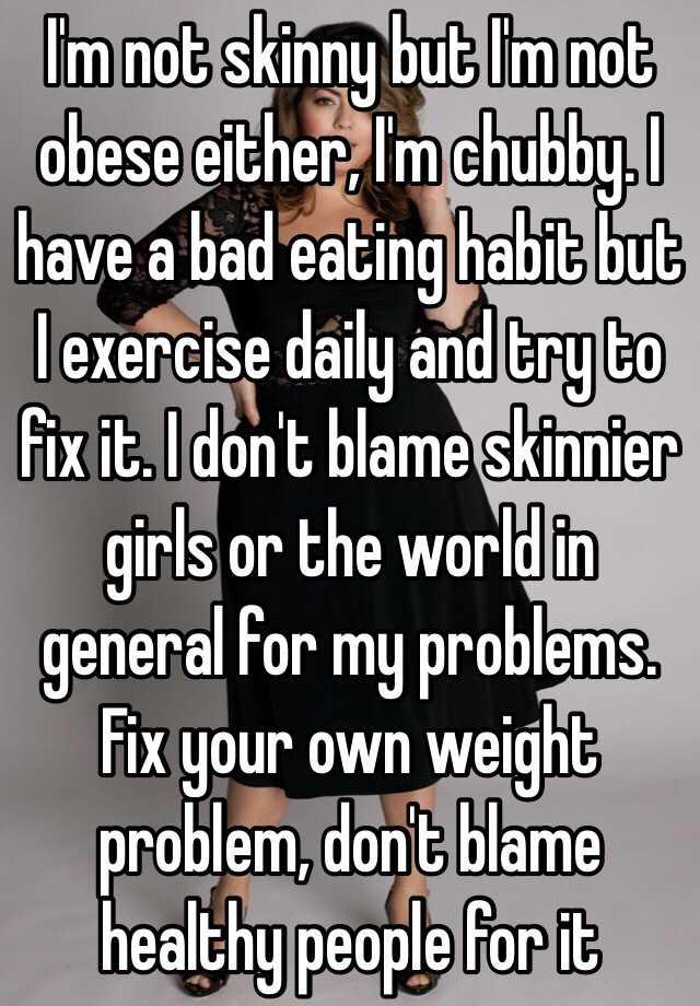 skinny girl health problems