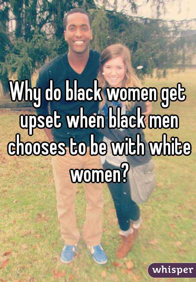 Why do white girls date black men