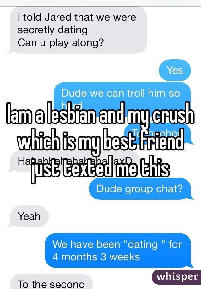 Lesbian crush on best friend
