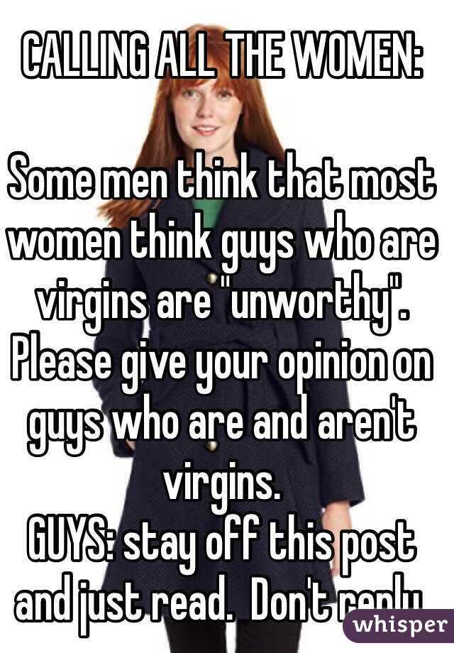 Similar women who are virgins thank