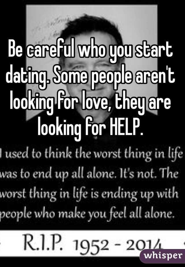 People looking for love