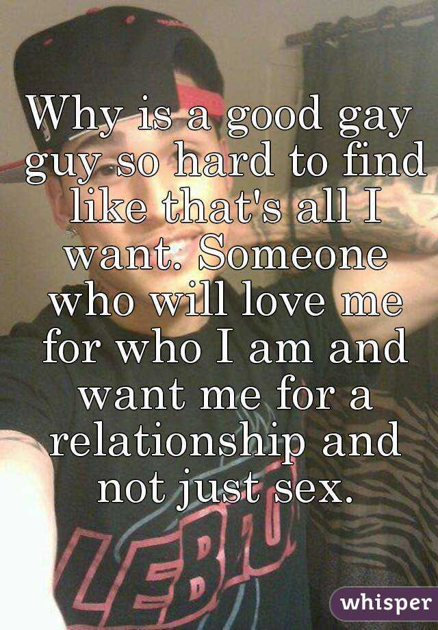 How to find a gay relationship