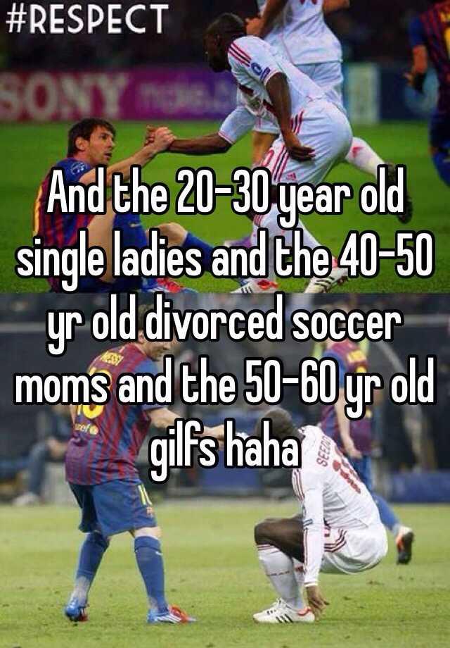 Single ladies 40 to 50
