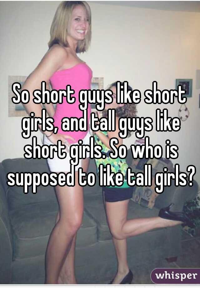 guys like short girls
