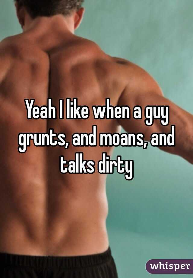 Male Dirty Talk Moaning