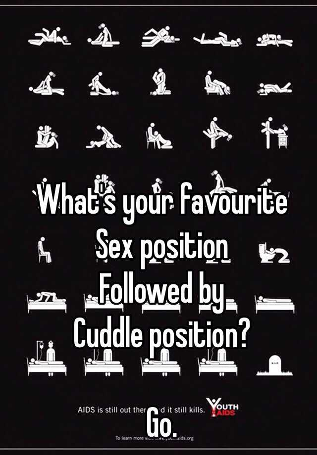 what is your favourite sex position