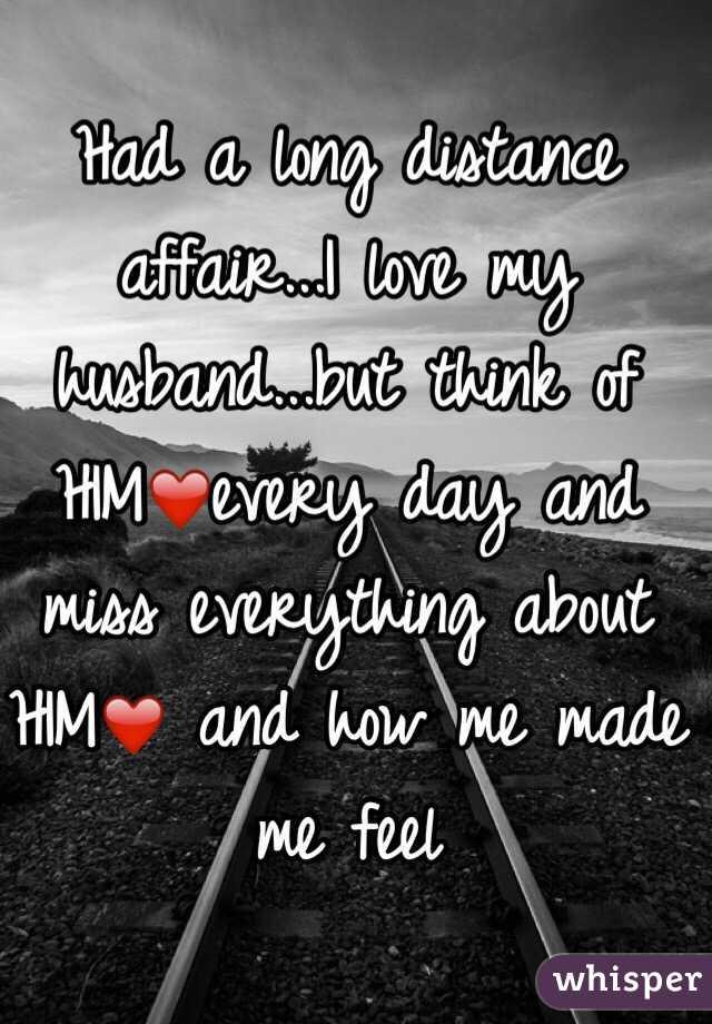 long distance husband