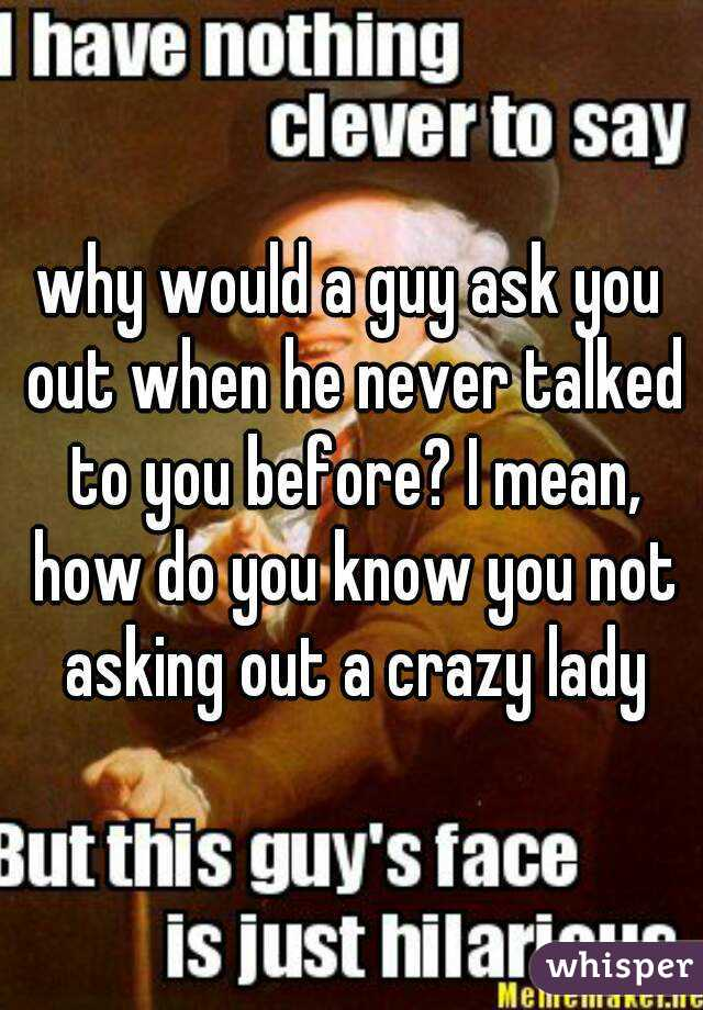 what to say if a boy asks you out