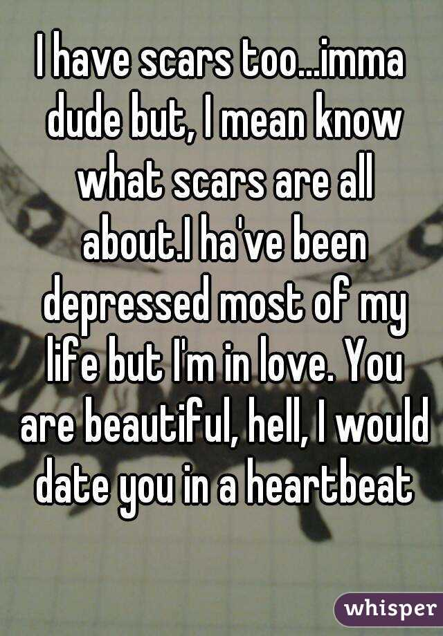 too depressed to date
