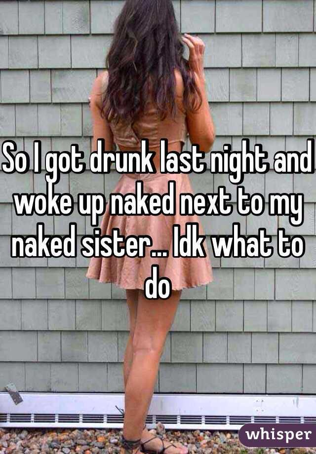 Words... fantasy i got my drunk sister