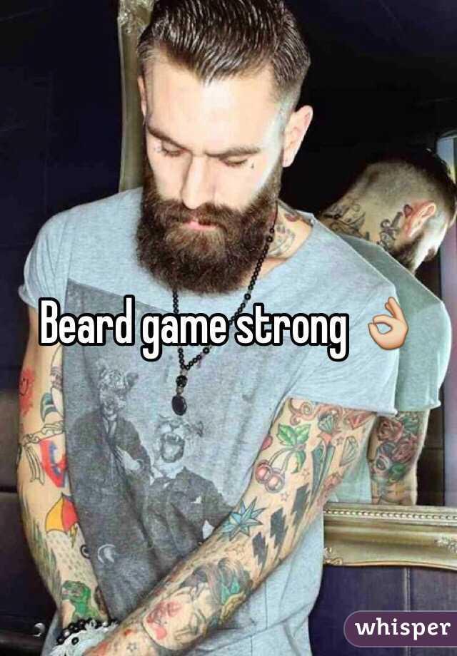 Get Beard Game Strong Pics