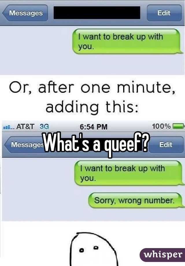 What a queef