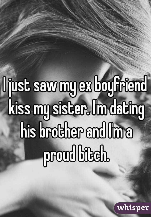 ex boyfriend dating my sister