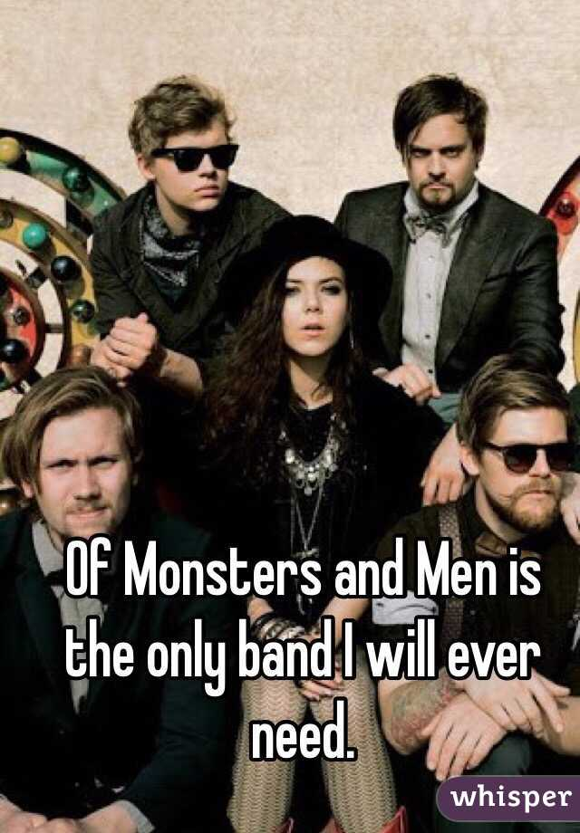 Of Monsters and Men is the only band I will ever need.