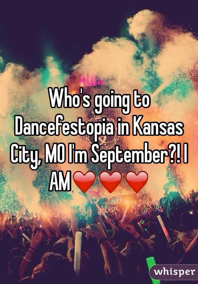 Who's going to Dancefestopia in Kansas City, MO I'm September?! I AM❤️❤️❤️