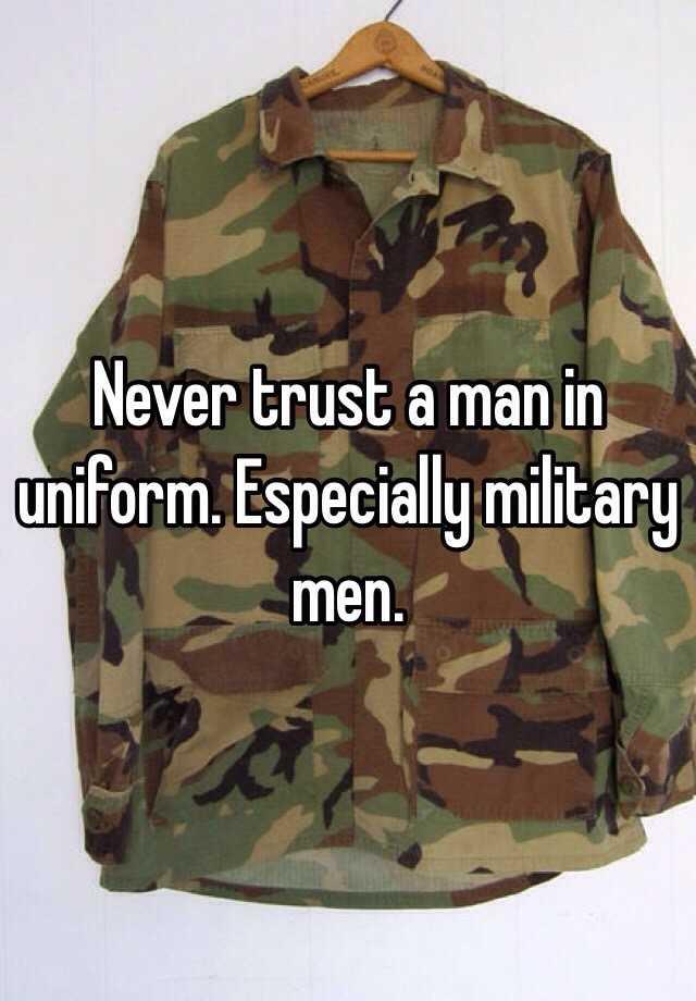 military men in uniform