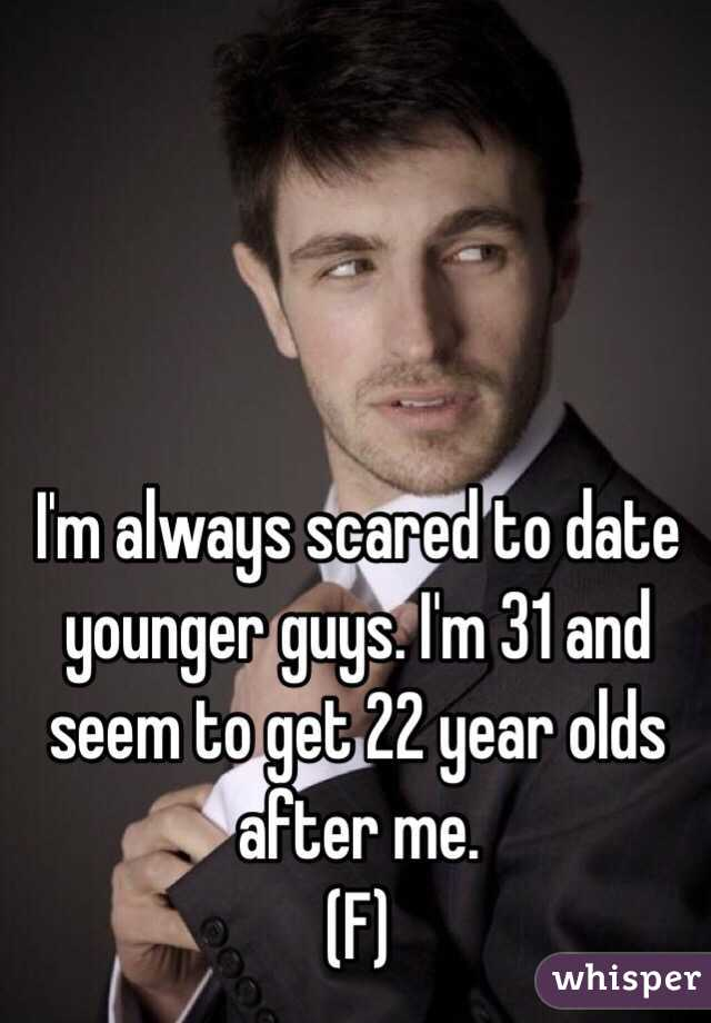 dating a man 22 years younger