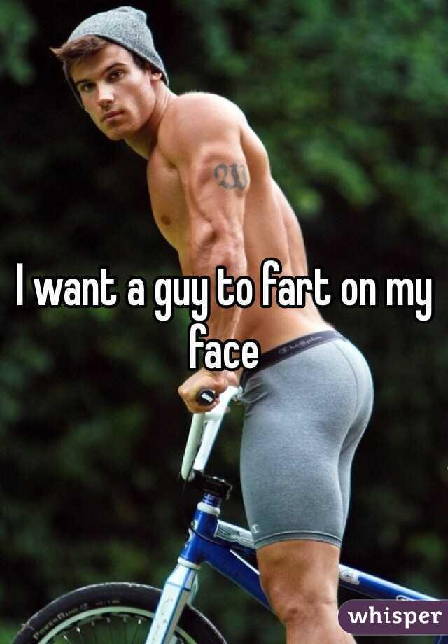 Male face fart