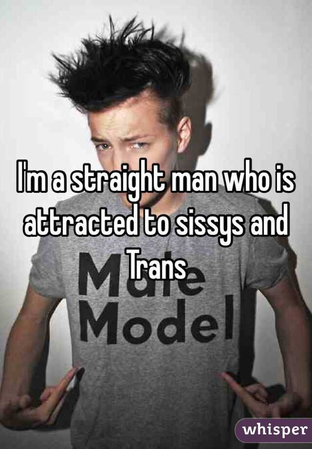 I'm a straight man who is attracted to sissys and Trans