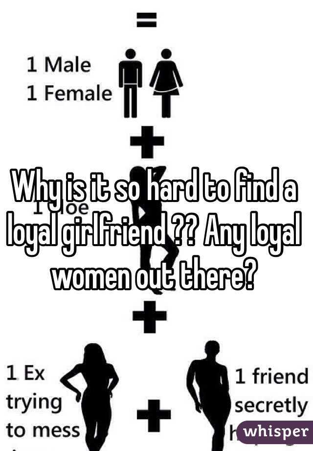 Why is it so hard to find a girlfriend