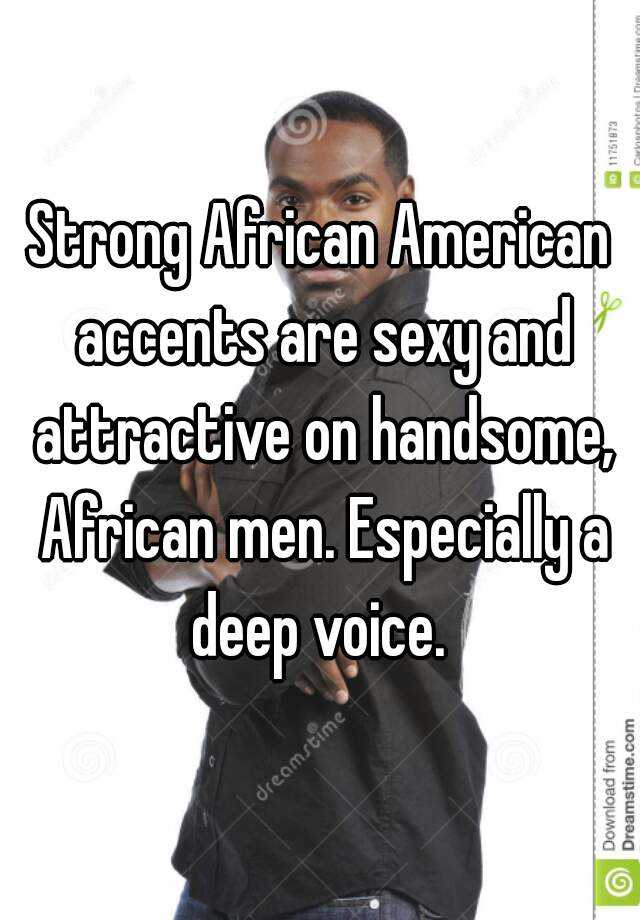 American accents sexy