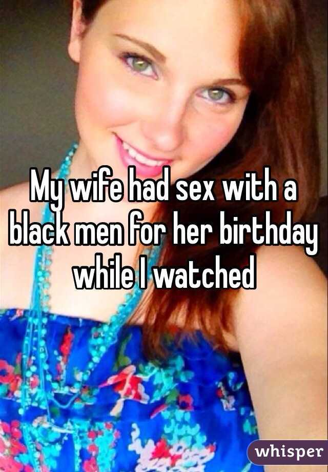 Birthday Sex For Wife