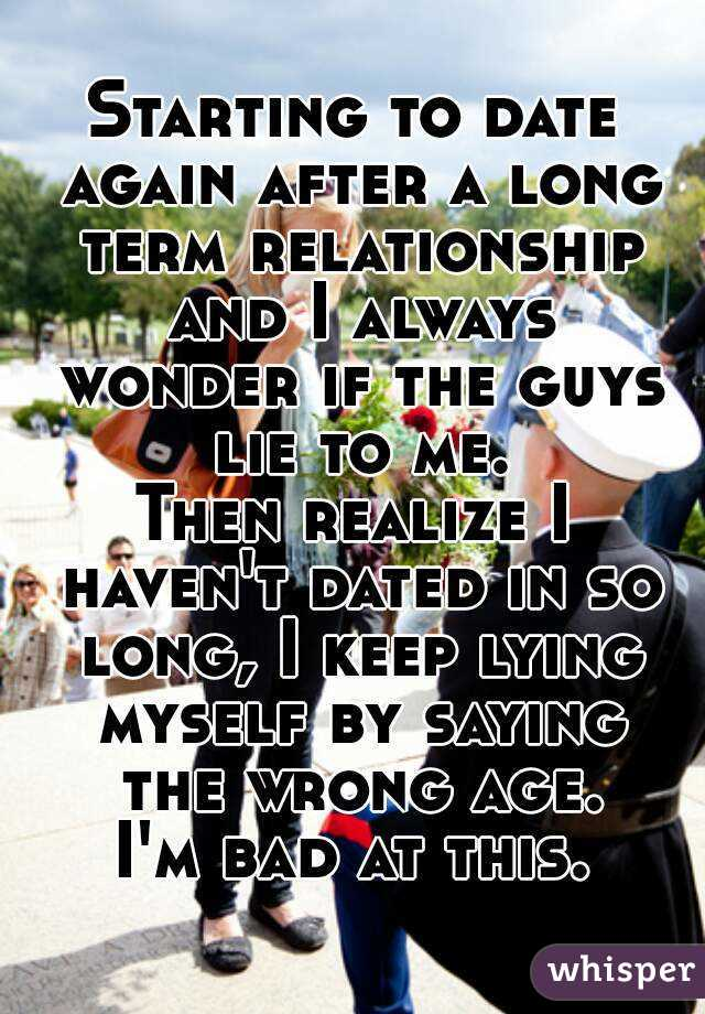 A Start Relationship To Long Dating When After