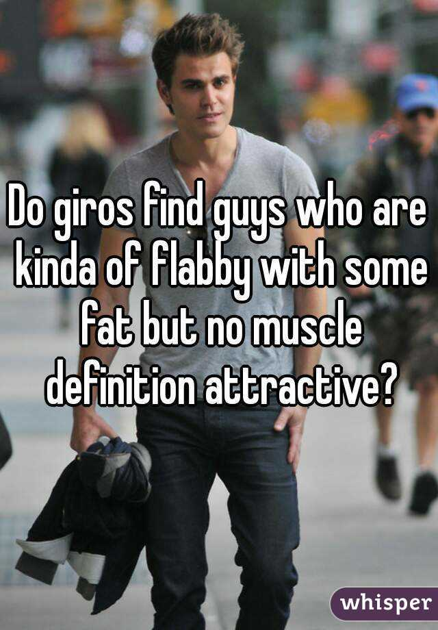 Attractive fat guys