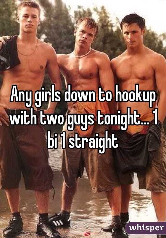 Can a girl hookup two guys