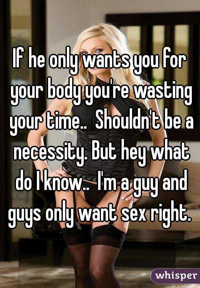 Sex only when she wants it
