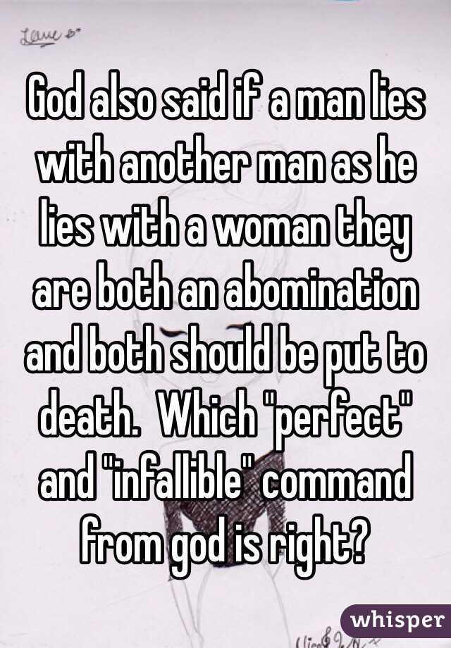 if a man lies with a man