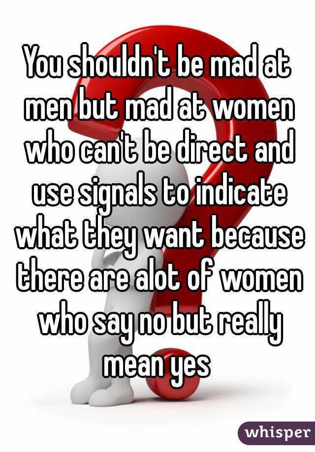 Do men like direct women