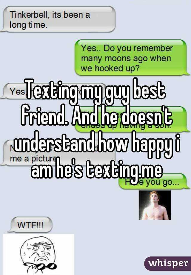 texting a guy friend