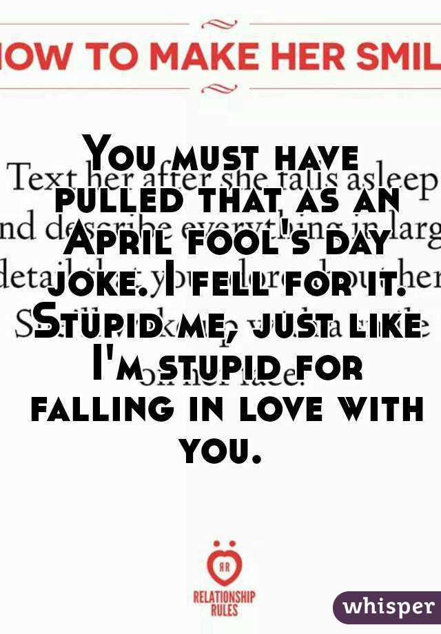 april fools jokes for relationships