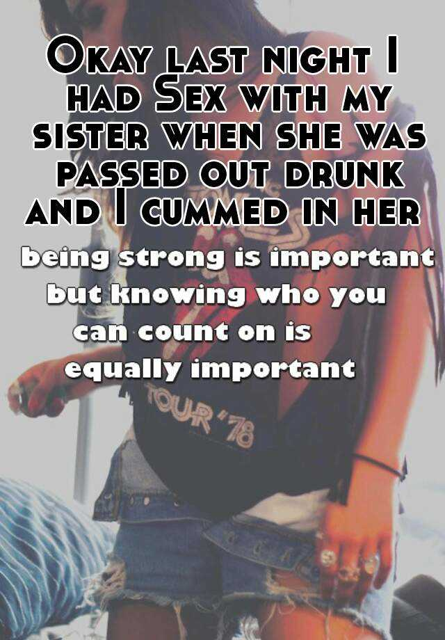 Sister get drunk and do sex